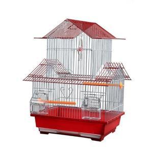 鸚鵡鳥籠牡丹養殖大號別墅籠鐵藝金屬