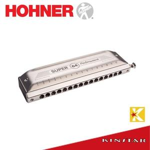 【金聲樂器】HOHNER New Super64 16孔半音階口琴