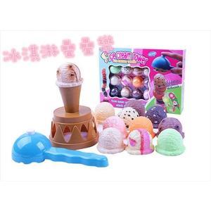 (現貨特價)夏日冰淇淋桌遊 疊疊樂 平衡遊戲 兒童辦家家 趣味遊戲 女孩 生日禮物 冰淇淋 兒童玩具