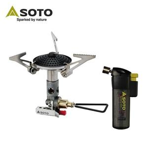 SOTO 攻頂爐 SOD-300S+SOTO防風點火器PT-14SBCR