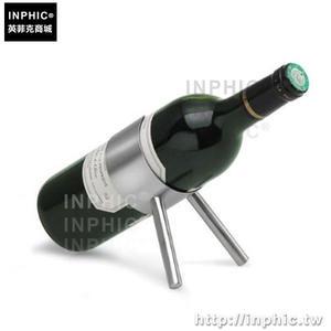 INPHIC-酒具小鋼炮酒架紅酒架歐式不鏽鋼酒架紅酒葡萄酒架酒架_fchM