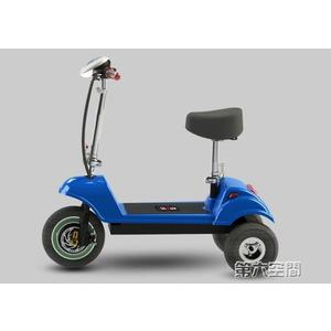 代步車 迷你型折疊電動三輪車成人電瓶車鋰電池女性代步車接送孩子 igo 第六空間