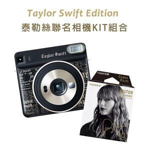 黑熊館 FUJIFILM instax SQUARE SQ6 kit 拍立得相機底片套組 泰勒絲 Taylor Swift 聯名款 親筆簽名