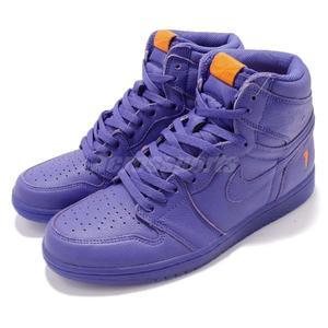 c56c1bf52581 Nike Air Jordan 1 Retro Hi OG G8RD Gatorade 紫橘開特力男鞋