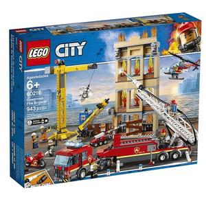 LEGO樂高 City 城市系列 市區消防隊_LG60216
