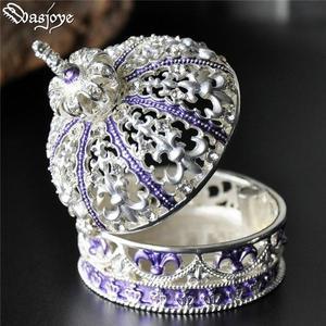 歐式正韓公主首飾盒手飾品收納盒珠寶盒戒指盒 三角衣櫃