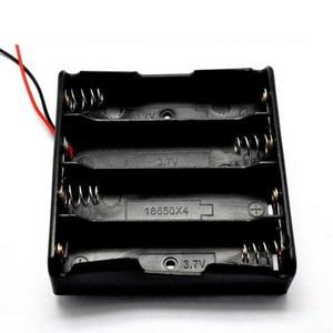 【DY354】18650電池盒18650電池座(不含蓋) 4節串聯 電池盒 帶保護板 行動電源★EZGO商城★