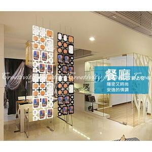 【相框屏風】DIY吊掛式時尚相片裝飾像框 相架 壁貼 牆貼(客廳.玄關.辦公室.隔間)