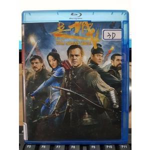 挖寶二手片-Q00-229-正版BD【長城 3D+2D】-藍光電影 影印海報