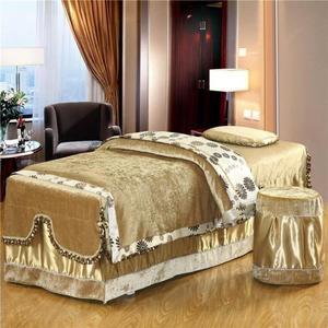 美容床罩四件套床上用品按摩床罩高檔美容床罩純色美容院專用床包MJBL 麻吉部落