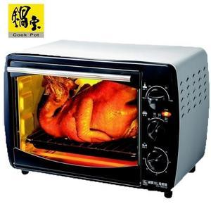 【鍋寶】18L多功能電烤箱 OV-1802-D 透明強化安全玻璃門