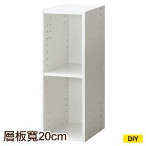 【DIY】22cm彩色櫃 COLOBO SLIM 雙層櫃 WH NITORI宜得利家居