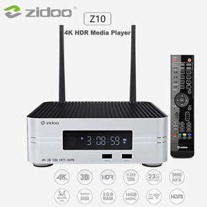 ZIDOO 芝杜 Z10 4K HDR 藍光網路硬碟播放機 全新品~免運