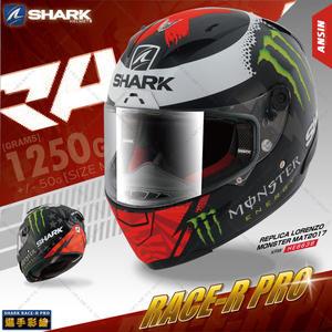 [中壢安信]SHARK Race-R Pro REPLICA 黑紅綠 全罩 安全帽 頂級 選手帽 KRW