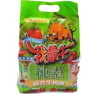 我最牛綜合素食牛角酥 500g【4719778004832】(馬來西亞零食)
