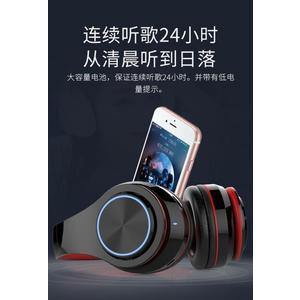 耳機VIVO無線藍芽耳機頭戴式可插卡健身運動跑步MP3內存卡耳麥HiFi音樂全館免運