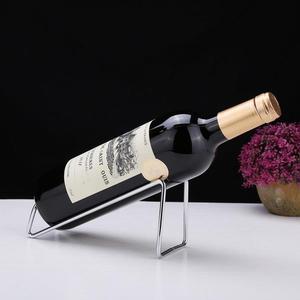 紅酒架 北歐不銹鋼簡約紅酒架紅酒架擺件家用歐式紅酒架 KB3272【野之旅】TW
