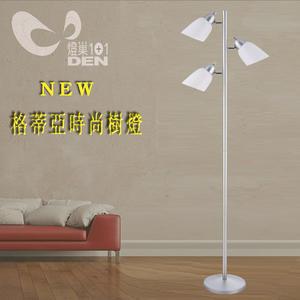 燈巢1+1】  燈具。燈飾。Led居家照明。桌立燈。工廠直營批發   格蒂亞金屬時尚樹燈   08124809