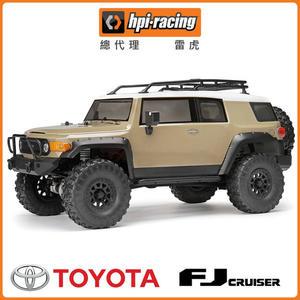 【HPI Racing】VENTURE - TOYOTA FJ CRUISER 1/10攀岩車 黃 6020HP-117165(攀岩車)