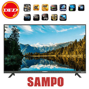 SAMPO 聲寶 EM-43ZK21D 液晶電視 43吋 4K UHD LED 新轟天雷立體音效技術 公司貨