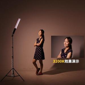 限定款攝影燈LED雙色溫手持補光棒 nFlash ice light外拍攝像燈攝影燈內置電池jj