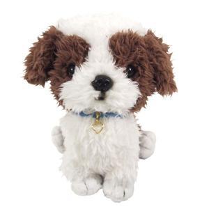 日本PUPS可愛玩偶 西施犬 仿真小狗 絨毛娃娃公仔毛絨玩具狗聖誕節禮物狗雜貨生日禮物紀念日送禮