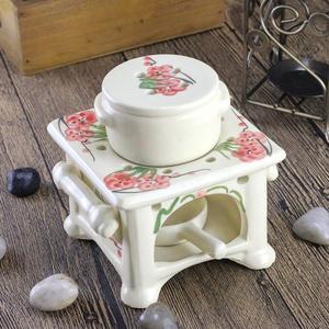 臥室大號蠟燭香薰爐家用香薰燈精油爐大容量酒店室內陶瓷精油燈爐