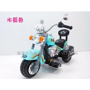 億達百貨20638全新超帥氣哈雷機車/仿真哈雷兒童電動車兒童摩托車帶後靠背兒童騎乘電動摩托車