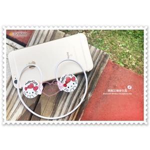 ♥小花花日本精品♥ Hello Kitty 藍芽無線 耳機 麥可風 附收納袋 任何運動適用 蝴蝶結 紅色 (預購)