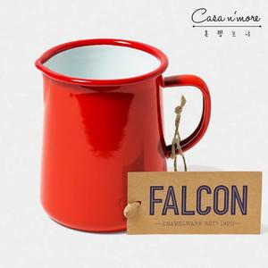 Falcon 獵鷹琺瑯 1品脫水壺 紅白