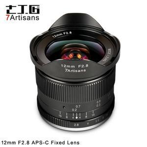 EGE 一番購】七工匠【12mm f2.8】微單無反用廣角鏡頭 APS-C【黑色】