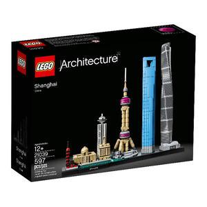 【LEGO 樂高積木】建築系列-上海 LT-21039