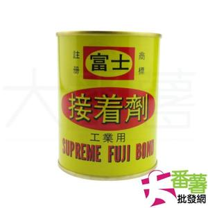 鐵罐 富士接著劑 強力膠300克 [16E1] - 大番薯批發網
