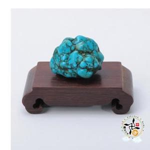 綠松石原礦(40g)【十方佛教文物】