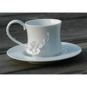 《ADDA》謙謙君子蘭系列-蘭花陶瓷杯盤組