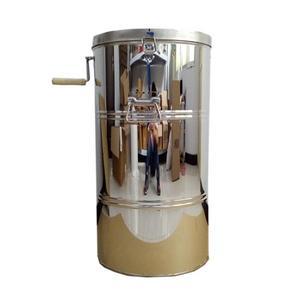 搖蜜機 搖蜜機304全不銹鋼加厚無縫不銹鋼搖蜜機甩蜜桶蜂蜜機蜂蜜分離機 城市科技DF