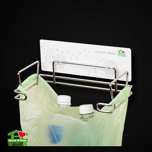 【家而適】資源回收垃圾袋壁掛架 廚房 浴室 無痕 收納架 置物架 垃圾桶