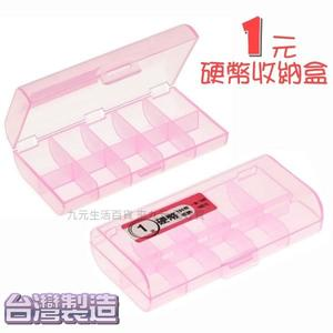 【九元生活百貨】1元硬幣收納盒 硬幣整理盒 硬幣攜帶盒