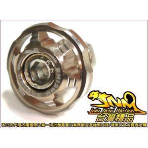 A4710008004-9 台灣機車精品 鋁合金六爪牌照螺絲墊片型 鈦色款2入(現貨+預購)  螺絲