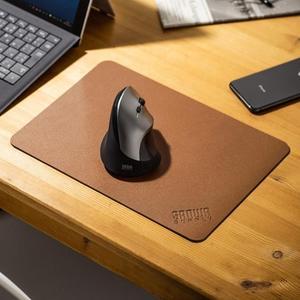 滑鼠墊 日本sanwa鼠標墊PU皮革游戲大號滑鼠墊辦公大桌墊辦公鍵盤鼠標墊