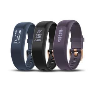 【GARMIN】vivosmart 3 智慧健身心率手環-紫色