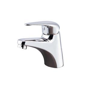 【麗室衛浴】國產精緻304白鐵 不鏽鋼 亮面盆龍頭 RB1125-2(全配304反爾.軟管)