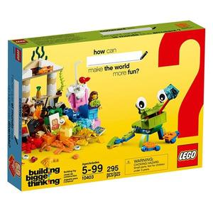 【LEGO 樂高積木】60周年紀念顆粒系列-世界主題 LT-10403