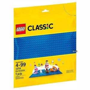 樂高積木LEGO《 LT10714 》2018 年Classic 經典基本顆粒系列 - 藍色底板╭★ JOYBUS玩具百貨