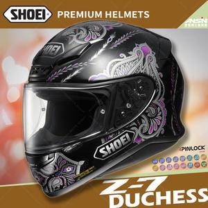 [中壢安信]日本 SHOEI Z-7 彩繪 DUCHESS TC-5 黑紫 輕量 全罩 安全帽 小帽體 透氣