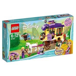【LEGO 樂高積木】迪士尼公主系列-長髮公主 樂佩的旅行大篷車 LT-41157