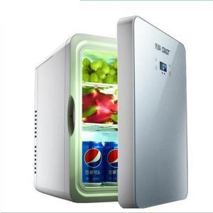 冰箱車載冰箱10L22L車家兩用單門式制冷小冰箱冷凍迷你冰箱igo220V