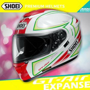 [中壢安信]日本 SHOEI GT-Air 彩繪 EXPANSE TC-10 紅綠 全罩 安全帽 內墨鏡