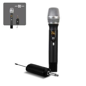 【IFIVE】UHF鋁合金變頻無線麥克風 一對一 卡拉OK麥克風 行動麥克風 音響喇叭專用 專業麥克風