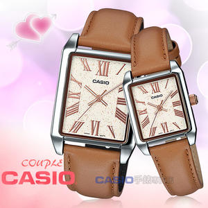 CASIO 卡西歐 手錶專賣店 MTP-TW101L-7A VDF+LTP-TW101L-7A VDF 對錶 指針錶 皮革錶帶 防水 全新品